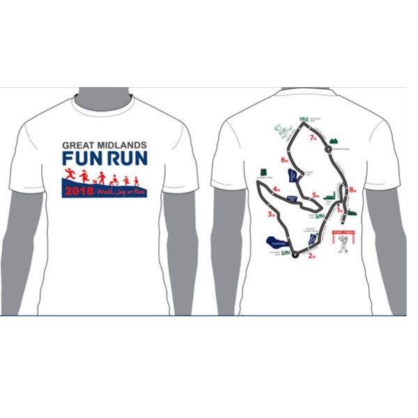 GMFR 2018 T Shirt Front & Back