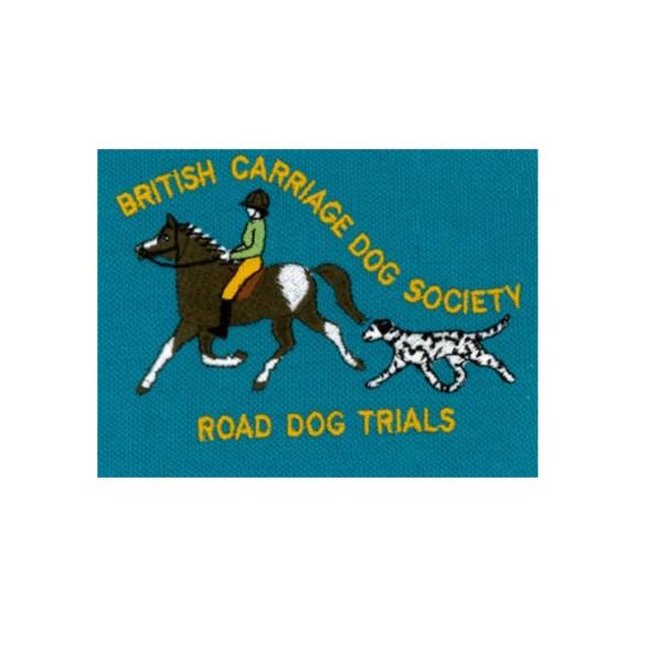 British Carriage Dog Society Road Dog Emb Logo 2