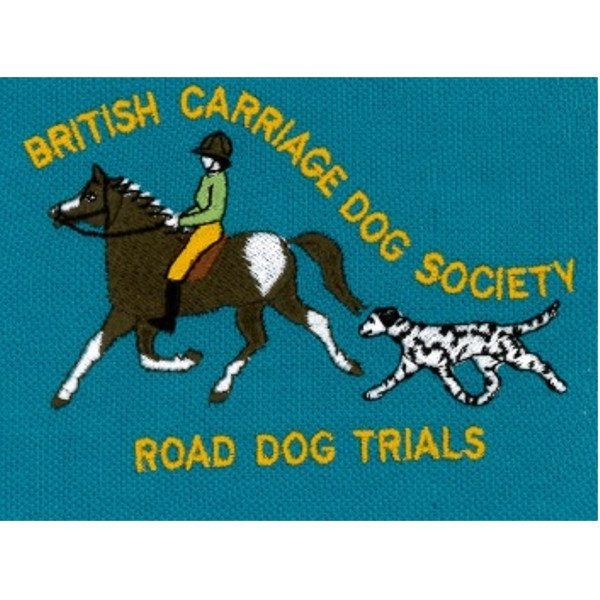 British Carriage Dog Society Road Dog Emb Logo 3