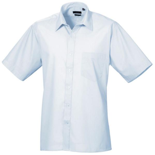 Loughborough college business mens ladies uniform for Light blue short sleeve shirt mens