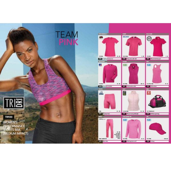 Pink Team Colours