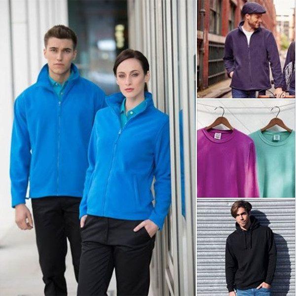 Fleeces sweats and hoodies ads